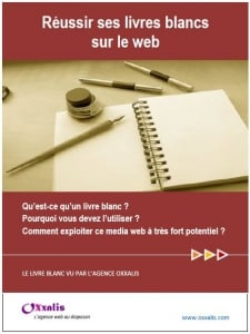 Couverture du Guide des livres blancs marketing